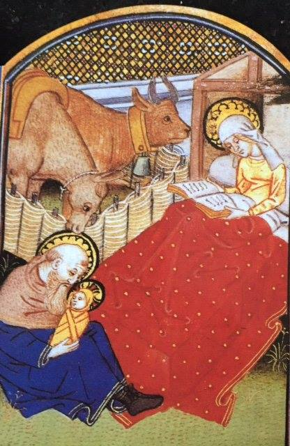 Book of Hours Mary Reading